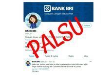 Awas, Akun Palsu di Twitter Catut Bank BRI