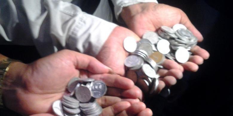 Ilustrasi uang koin
