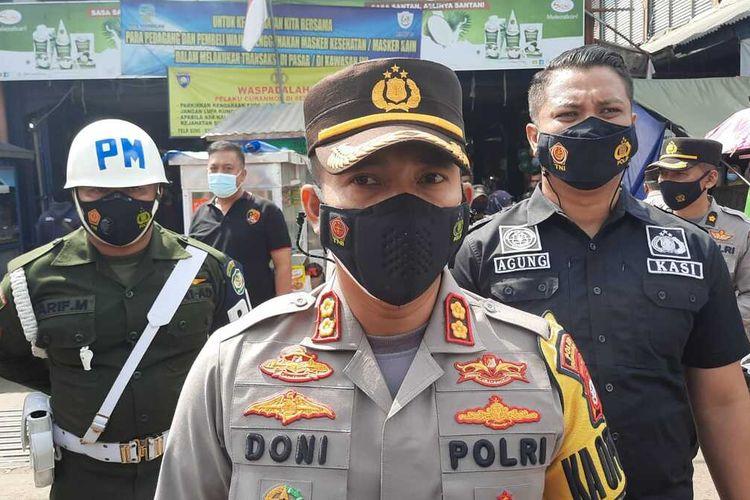 Kepala Polresta Tasikmalaya, AKBP Doni Hermawan.