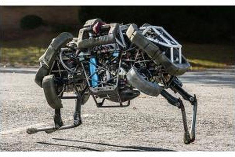 Salah satu robot besutan Boston Dynamics