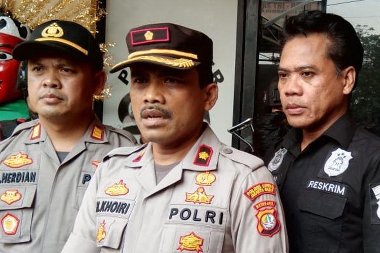 Kapolsek Cengkareng, Kompol Khoiri di Polsek Cengkareng, Jakarta Barat, Kamis (7/11/2019).