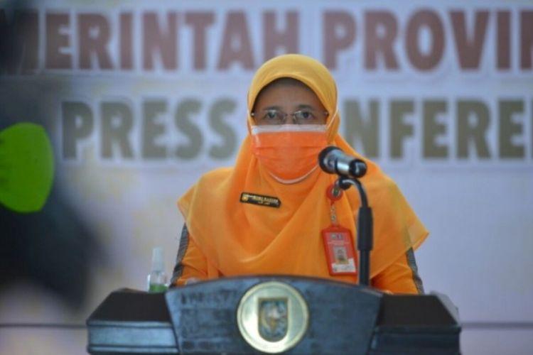 Kepala Dinas Kesehatan Riau Mimi Yuliana Nazir.