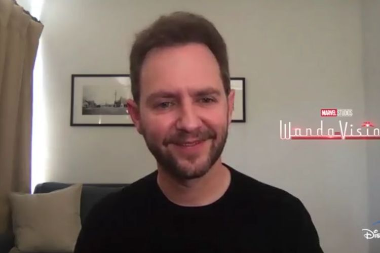 Tangkapan layar Matt Shakman saat diwawancarai secara virtual di acara Marvel Studio's Press Day, Rabu (3/3/2021)