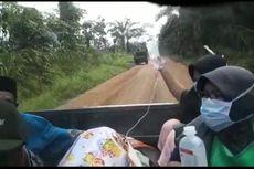 Video Viral Kapolsek Selamatkan Wanita Pendarahan Setelah Melahirkan dengan Menempuh 50 KM dari Dalam Hutan