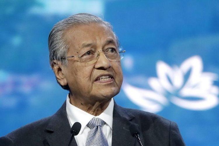 Perdana Menteri Malaysia Mahathir Mohamad.