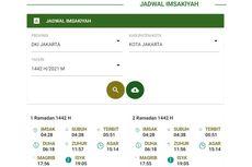 Link Download Jadwal Imsakiyah Kemenag, Muhammadiyah, dan NU