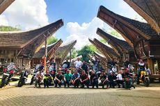 Komunitas Moge Honda Turing Trans Sulawesi