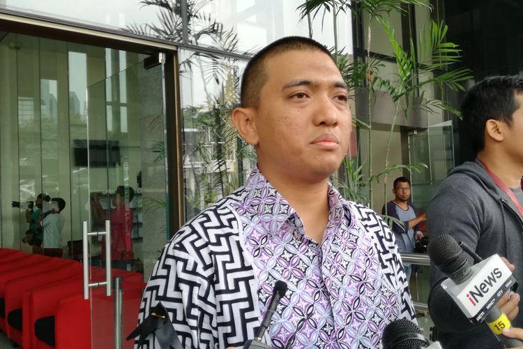 Ketua WP KPK Yudi Purnomo di Gedung Merah Putih KPK, Jakarta, Rabu (16/10/2019)