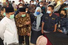 Tinjau Vaksinasi di RS Jiwa Dadi Makassar, Muhadjir Effendy Ungkap soal Kelangkaan Vaksin
