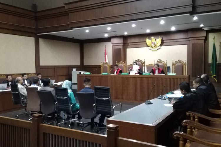 Sidang lanjutan pemeriksaan saksi untuk terdakwa anggota Komisi VI DPR Bowo Sidik Pangarso di Pengadilan Tindak Pidana Korupsi, Jakarta, Rabu (4/9/2019).