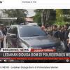 Detik-detik Pelaku Melawan Petugas dan Meledakan Diri di Polrestabes Medan