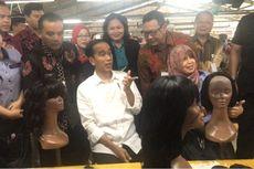 Jokowi Tinjau Pabrik Tempat Asal Wig Madonna