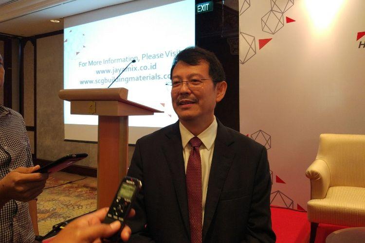 Ketua Himpunan Ahli Konstruksi Indonesia (HAKI) Davy Sukamta
