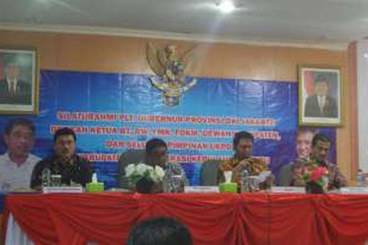 Plt Gubernur DKI Sumarsono mengunjungi Pulau Pramuka, Jumat (9/12/2016).