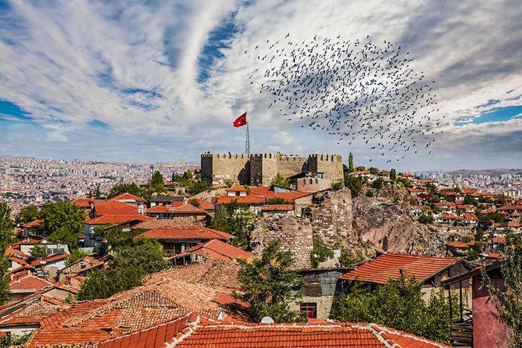Kota Ankara di Negara Turki.