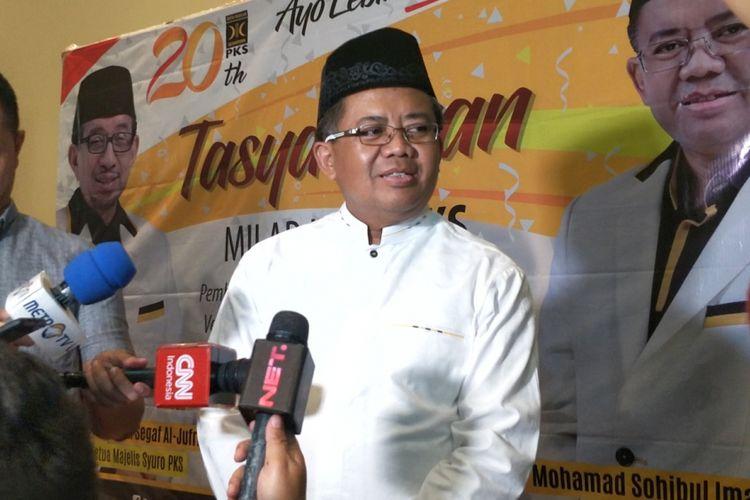 Presiden Partai Keadilan Sejahtera (PKS) Sohibul Iman.
