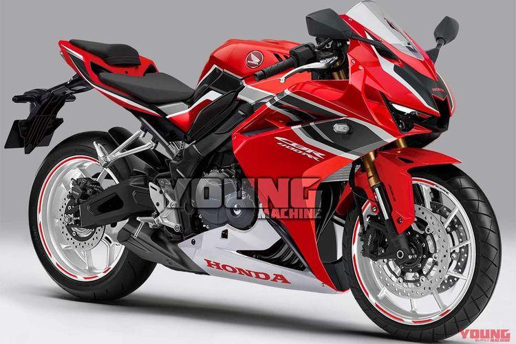 Render terbaru Honda CBR400RR