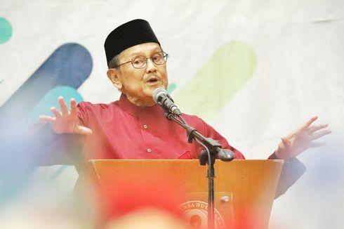 BJ Habibie: Anak Indonesia Sekarang Harus Lebih Hebat dari Habibie...