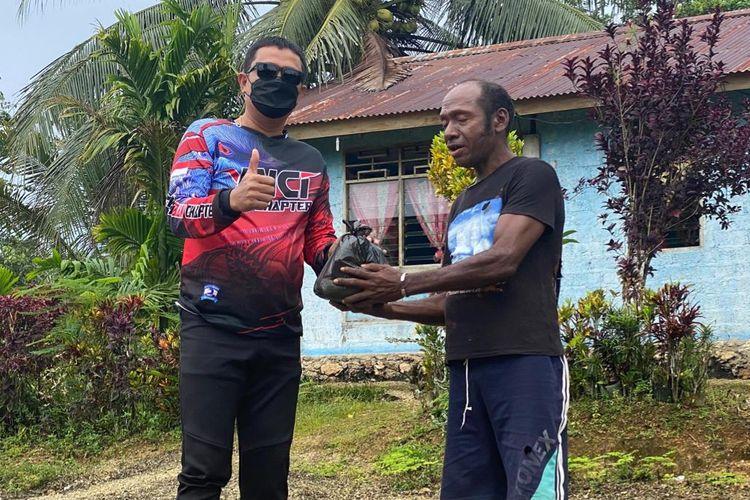 Kisah touring pengguna Maxi Yamaha di Papua