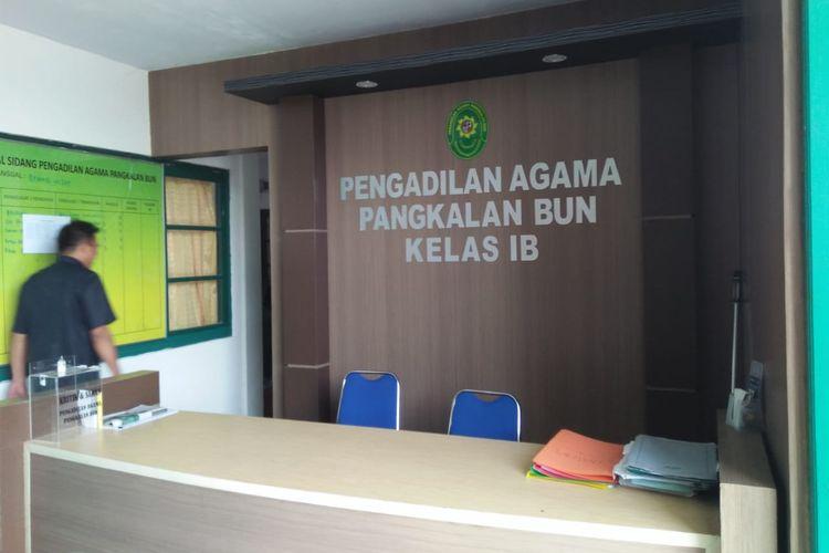 Kantor Pengadilan Agama Kelas IB Pangkalan Bun, Kalimantan Tengah, dibobol maling, Rabu (17/7/2019) dini hari.