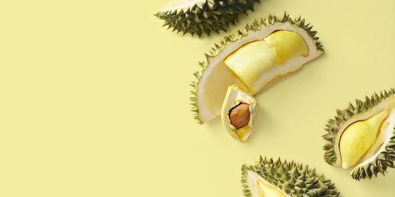 Ilustrasi durian.