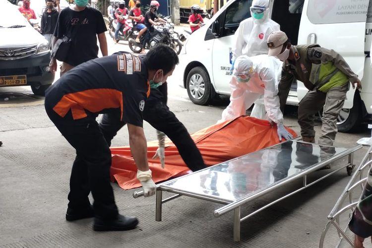 Seorang Pria Tiba-Tiba Terkapar dan Tewas Saat Berkendara Sepeda Motor di Ancol, Rabu (15/4/2020