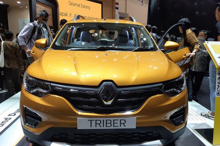 Renault akhirnya meluncurkan MPV murah Triber di GIIAS 2019, tapi tanpa harga resmi, Kamis (18/7/2019).