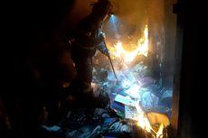 Korsleting, Gedung Disdik Kota Bekasi Terbakar