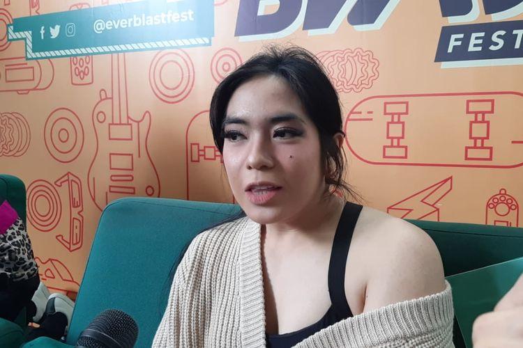Prisa Rianzi saat ditemui di kawasan Kemang, Jakarta Selatan, Selasa (3/3/2020).