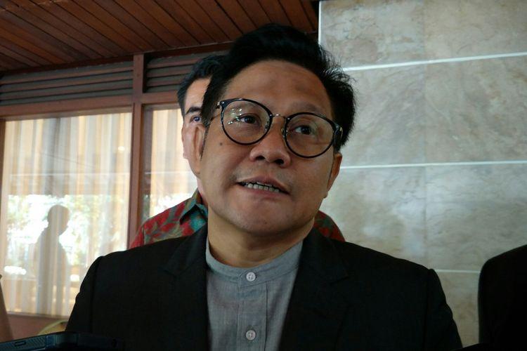 Ketua Umum Partai Kebangkitan Bangsa, Muhaimin Iskandar alias Cak Imin ketika ditemui di rumah dinasnya, Jakarta, Jumat (25/5/2018).