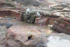 Tengkorak Manusia dan Runtuhan Menara Ditemukan di Situs Kuno Jombang