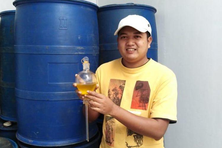 Khafidz Nasrullah, pendiri Nares essential oil, minyak esensial