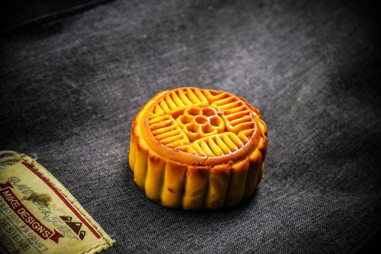 Ilustrasi kue bulan gaya Yunnan