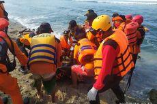 Pemancing Tergulung Ombak di Pantai Wediombo Gunungkidul Ditemukan Meninggal