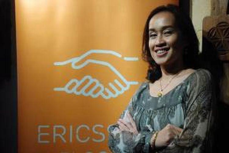 VP Marketing Communication Ericsson Indonesia Hardyana Syintawati.