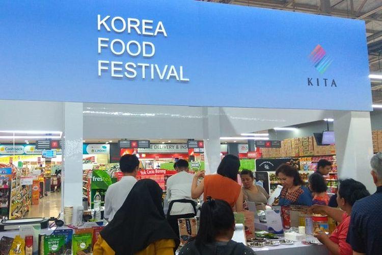 Korea Food Festival.