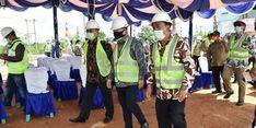 Menteri Suharso Tinjau Pembangunan Embung Konservasi Kolong Mempaya