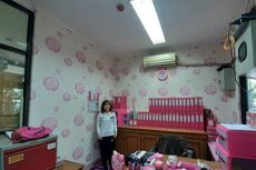 PNS Ini Ubah Ruangan Kerjanya di Kelurahan Rawa Bunga Jadi Serba Pink