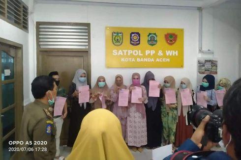 10 Perempuan Berbaju Ketat Gowes Keliling Aceh, Wali Kota Marah