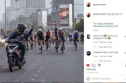 Viral Foto Motor Versus Sepeda, Ini Baiknya dari Sisi Safety Riding