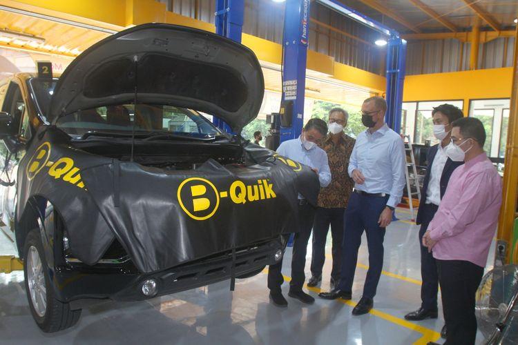 PT Lippo Malls Indonesia (LMI) membentuk kerja sama dengan PT BQuik Otomotif Indonesia (B-Quik) di bidang pemeliharaan mobil, Kamis (22/4/2021).