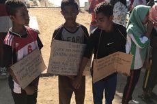 Anak-anak dari Pulau Komodo Tulis Surat untuk Presiden Jokowi