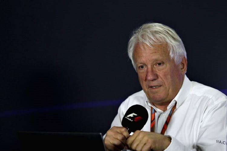 Direktur Balapan Formula 1 (F1) Charlie Whiting.