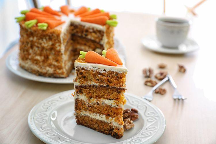 ilustrasi carrot cake.