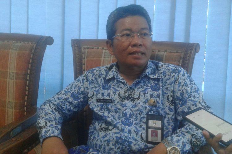 Kepala Dinas Kesehatan Kabupaten (DKK) Sragen, Hargiyanto di Sragen, Jawa Tengah, Kamis (17/1/2019).