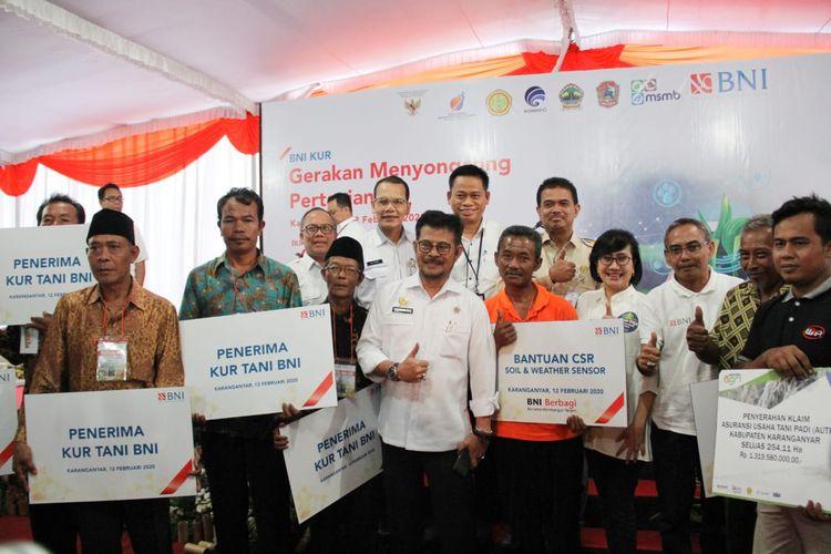 Gandeng BNI, Kementan Gelar Gerakan Menyongsong Pertanian 4.0