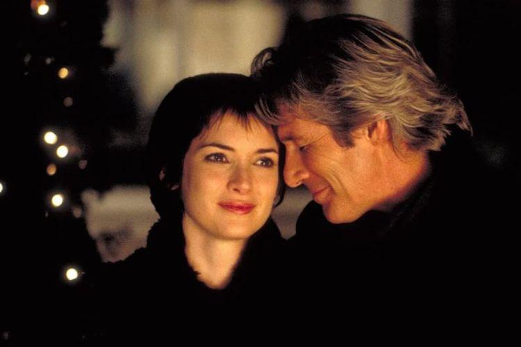 Richard Gere dan Winona Ryder dalam film Autumn in New York (2000)