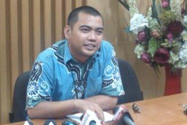 Kepala Bagian Pemberitaan dan Informasi KPK Priharsa Nugraha