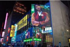 Keren, Iklan Brand Lokal Erigo Tampil di Times Square New York