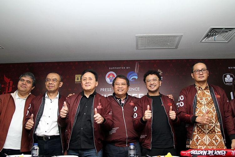Piala Presiden Esports 2020 resmi dibuka di Tennis Indoor Stadium, Gelora Bung Karno, Senayan, pada Minggu (13/10/2019).